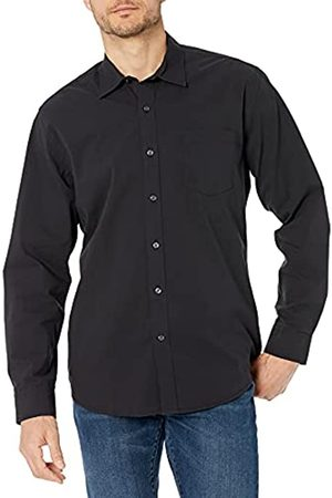 Amazon Regular-Fit Long-Sleeve Solid Shirt Camicia, , X-Large