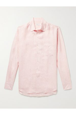 Loro Piana Uomo Casual - Striped Linen Shirt