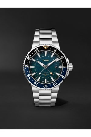 Oris Uomo Orologi - Aquis Whale Shark Limited Edition Automatic 43.5mm Stainless Steel Watch, Ref. No. 01 798 7754 4175-Set