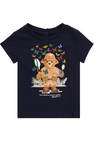 Polo Ralph Lauren Kids Baby - T-shirt Polo Bear cotone