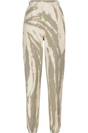 Les Tien Pantaloni sportivi tie-dye in cotone