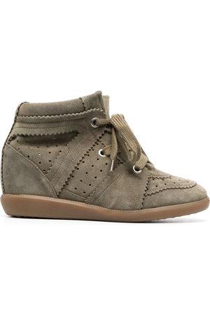Isabel Marant Sneakers con zeppa Bobby