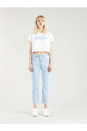 Levi's 501® Original Crop Jeans Light Indigo / Samba Goal