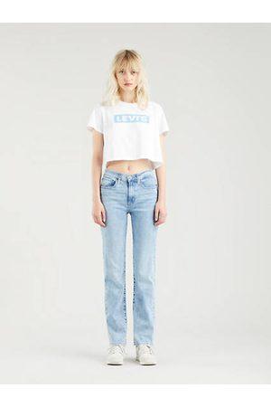 Levi's 724™ High Rise Straight Jeans Light Indigo / Spill The Tea