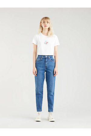Levi's High Waist Taper Mom Jeans Medium Indigo / Fit The Bill