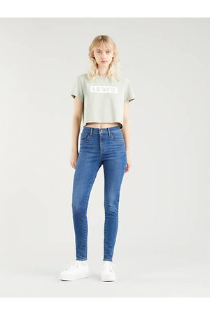 Levi's 720™ High Rise Super Skinny Jeans Medium Indigo / Echo Cloud