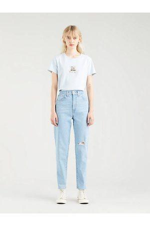 Levi's High Waist Taper Mom Jeans Medium Indigo / No Joke