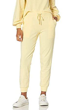 The Drop Grace Pantaloni da corsa, super morbidi ed elasticizzati, con coulisse da Donna, XS, pastello