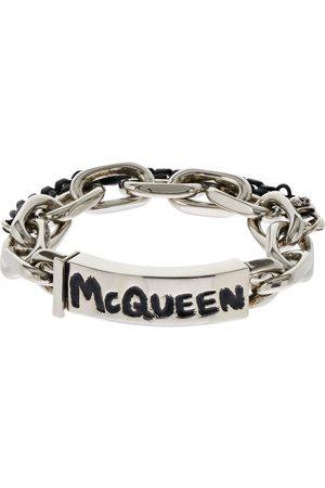 Alexander McQueen Uomo Bracciali - Bracciale Mcqueen Con Graffiti