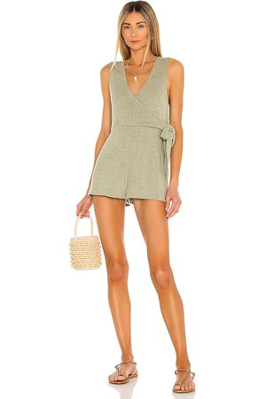 MINKPINK Donna Tute corte - Malika Wrap Playsuit in - . Size L (also in S, XS, M).