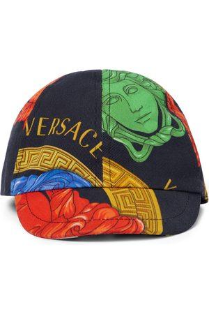 Versace Kids Bambino Cappelli con visiera - Cappello da baseball in cotone