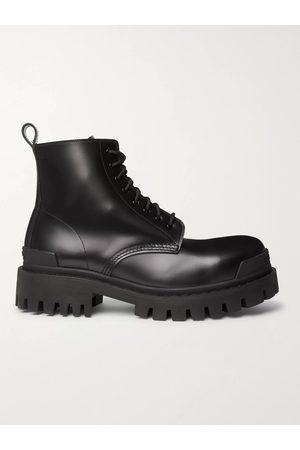 Balenciaga Uomo Stivali - Leather Boots