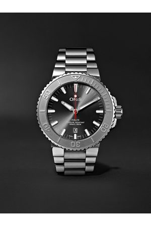 Oris Aquis Date Relief Automatic 43.5mm Stainless Steel Watch, Ref. No. 01 733 7730 4153-07 8 24 05PEB