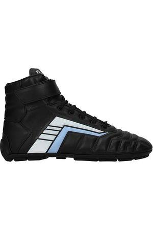 Prada Sneakers Uomo Pelle Azzurro