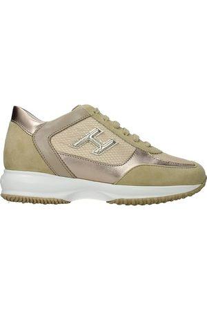 Hogan Sneakers interactive Donna Tessuto Platino