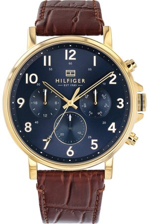 Tommy Hilfiger Orologio analogico 'Dressed Up' scuro /