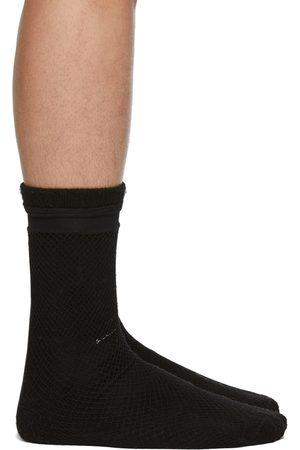 Random Identities Black Fishnet Socks