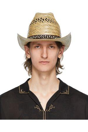 Saint Laurent Beige Kate Hat