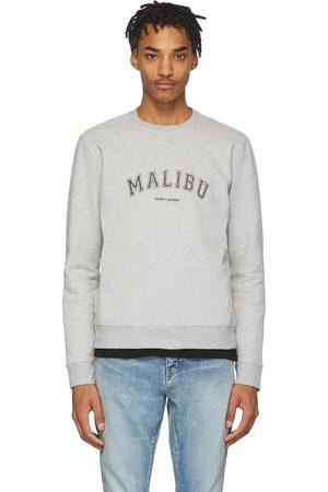 Saint Laurent Grey 'Malibu' Sweatshirt