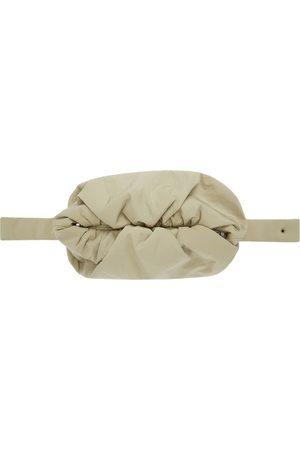 Bottega Veneta Tan 'The Body' Pouch Bag
