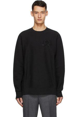 Moncler Genius 2 Moncler 1952 Black Fleece Logo Sweatshirt