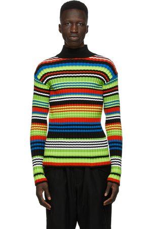 AGR SSENSE Exclusive Multicolor Striped Turtleneck
