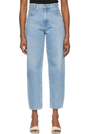 Goldsign Blue 'The Curved' Jeans
