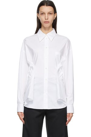 MM6 MAISON MARGIELA White Cinch Waist Shirt