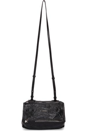 Givenchy Black Crinkled Mini Pandora Bag