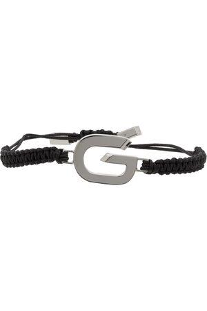 Givenchy Silver G Link Cord Bracelet