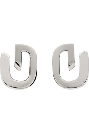 Givenchy Silver G-Link Earrings