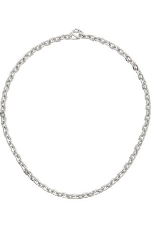 Givenchy Silver G Link Necklace