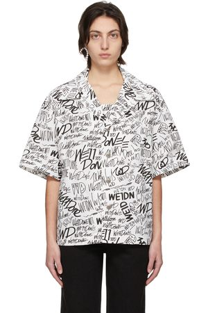 We11 Done Allover Logo Short Sleeve Shirt