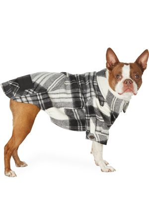 We11 Done SSENSE Exclusive Wool Check Anorak Shirt