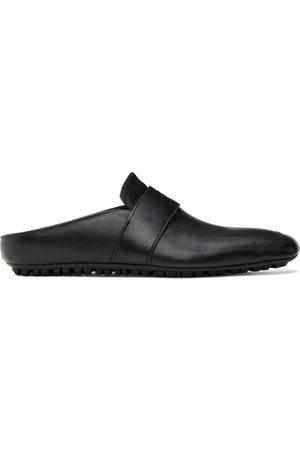 Balenciaga Black City Sabot Loafers