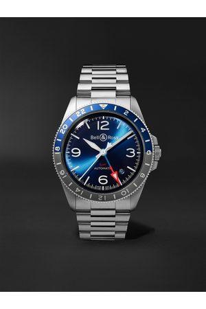 BELL & ROSS Uomo Orologi - BR V2-93 Automatic 41mm Stainless Steel Watch, Ref. No. BRV293-BLU-ST/SST