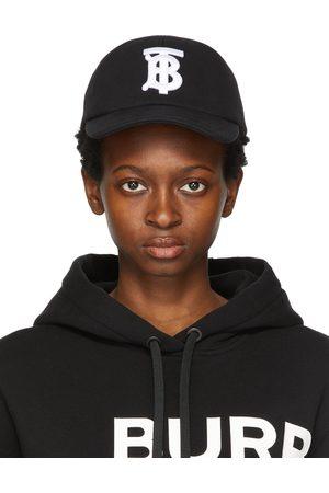 Burberry Cotton Jersey Monogram Baseball Cap