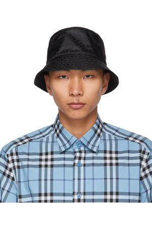 Burberry Jacquard Monogram Bucket Hat