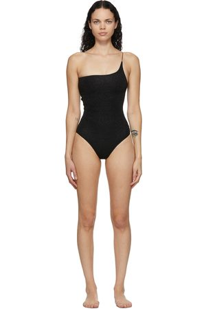 Oseree One-Shoulder Lumière One-Piece Swimsuit