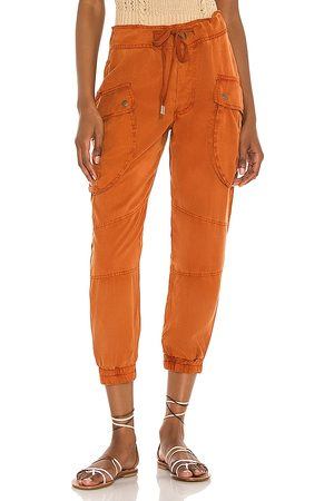 YFB CLOTHING Clyde Cargo Pant in - Rust. Size L (also in XS, S, M).