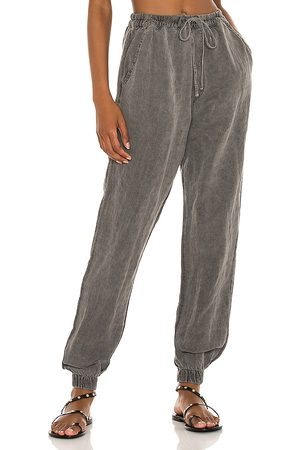 NSF Donna Joggers - Taylor Clean Easy Jogger in - Black. Size L (also in XS, S, M).