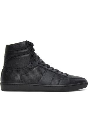 Saint Laurent Black Court Classic SL/10H Sneakers