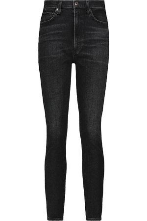 AGOLDE Jeans skinny Pinch a vita alta