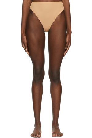 SKIMS Beige Jelly Sheer Fits Everybody Cheeky Briefs