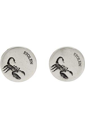 Stolen Girlfriends Club Scorpion Plate Stud Earrings