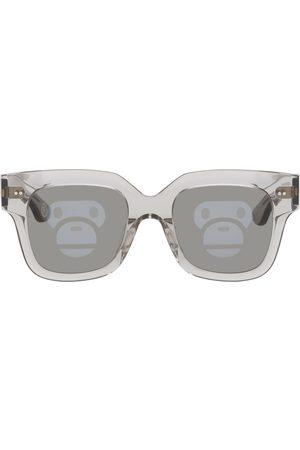 BAPE Grey BS13013 Sunglasses