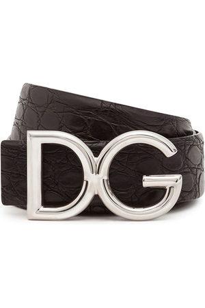 Dolce & Gabbana Uomo Cinture - Cintura DG con applicazione
