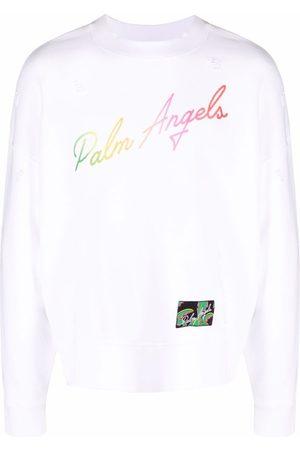 Palm Angels Uomo Felpe - Felpa con logo Miami