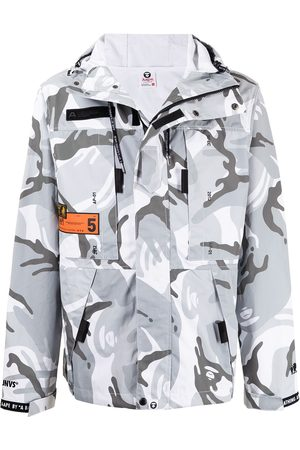 AAPE BY *A BATHING APE® Giacca con stampa camouflage