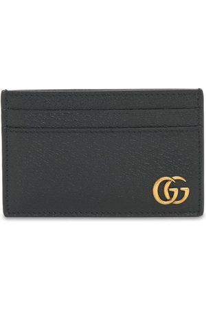 """Gucci Porta Carte Di Credito """"gg Marmont"""" In Pelle"""